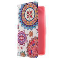 Cross peňaženkové puzdro pre Huawei Honor 7 - mandala