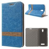 Linie puzdro pre mobil Lenovo A2010 - modré