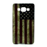 Gélový kryt Samsung Galaxy A5 - vlajka USA
