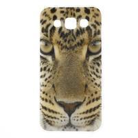 Gélový obal pre mobil Samsung Galaxy E5 - leopard