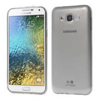 Ulta tenký obal na Samsung Galaxy E7 - šedý