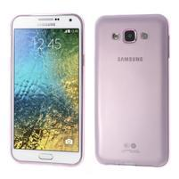 Ulta tenký obal pre Samsung Galaxy E7 - ružový