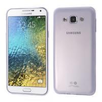 Ulta tenký obal pre Samsung Galaxy E7 - fialový