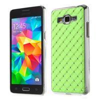 Zelený drahokamový kryt pre Samsung Grand Prime