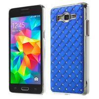 Modrý drahokamový kryt pre Samsung Grand Prime