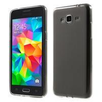 Oboustranně matný kryt na Samsung Galaxy Grand Prime - šedý