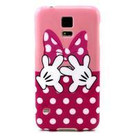 Luxury gélový obal pre mobil Samsung Galaxy S5 - Minie