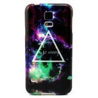 Luxury gélový obal pre mobil Samsung Galaxy S5 - triangl