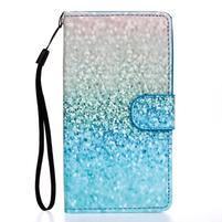 Knížkové PU kožené puzdro pre Samsung Galaxy S5 - glitter
