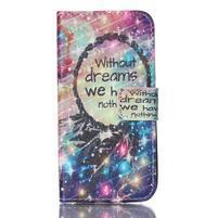 Stand peněženkové pouzdro na Samsung Galaxy S5 mini - dreams