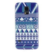 Ultratenký obal na mobil Samsung Galaxy S5 mini - geo tvary