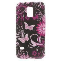 Softy gélový obal pre Samsung Galaxy S5 mini - čarovné motýle