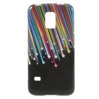 Softy gélový obal pre Samsung Galaxy S5 mini - meteor