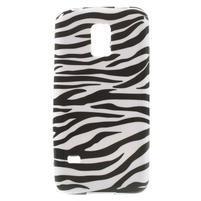 Softy gélový obal pre Samsung Galaxy S5 mini - zebra