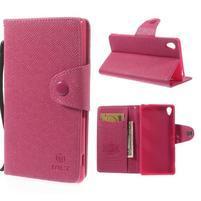 Rose Peňaženkové puzdro pre Sony Xperia Z3