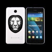 Animal gelový obal na Huawei Y635 - lev