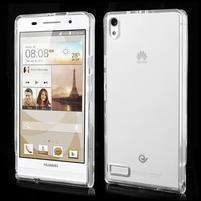 Gélové puzdro na Huawei Ascend P6 - transparentný