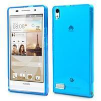Gélové puzdro na Huawei Ascend P6 - modré