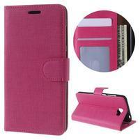 Clothy peněženkové puzdro na Huawei Y5 II - rose