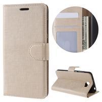 Clothy peněženkové puzdro na Huawei Y5 II - zlaté