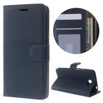 Clothy peněženkové puzdro na Huawei Y5 II - tmavěmodré