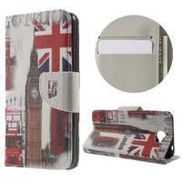 Emotive peněženkové puzdro na Huawei Y5 II - United Kingdom
