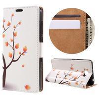 Emotive peněženkové pouzdro na Huawei Y6 II Compact - podzimní strom