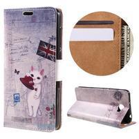 Emotive peňaženkové puzdro na Huawei Y6 II Compact - UK vlajka