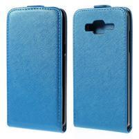Flipové puzdro pre Samsung Galaxy J5 - modré