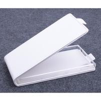 Kožené flipové puzdro pre Lenovo P70 - biele