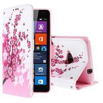 Safety puzdro pre mobil Microsoft Lumia 535 - kvitnúca vetvička