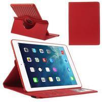 Circ otočné puzdro pre Apple iPad Air - červené