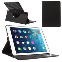 Circ otočné puzdro na Apple iPad Air - čierne