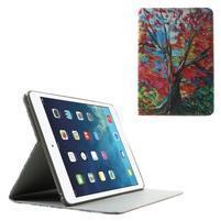 Paint štýlové ochranné puzdro pre iPad Air 2 - strom