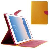 Excelent Diary puzdro pre iPad Air 2 - oranžový