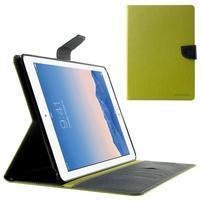 Excelent Diary puzdro pre iPad Air 2 - zelené