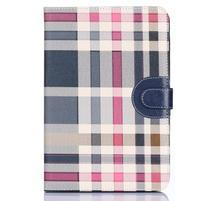 Fashion style puzdro na iPad Air 2 - tmavomodré