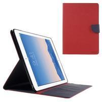 Excelent Diary puzdro pre iPad Air 2 - červené