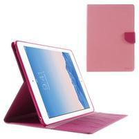 Excelent Diary puzdro pre iPad Air 2 - ružové