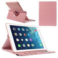 Circ otočné puzdro pre Apple iPad Air - ružové