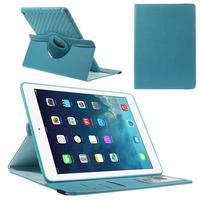 Circ otočné puzdro na Apple iPad Air - svetlomodré