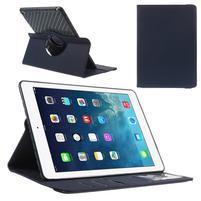 Circ otočné puzdro na Apple iPad Air - tmavomodré