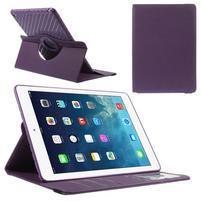 Circ otočné puzdro pre Apple iPad Air - fialové