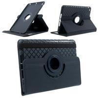 Circu otočné puzdro pre Apple iPad Mini 3, iPad Mini 2 a ipad Mini - tmavomodré