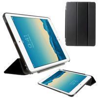 Classic troj polohové puzdro pre iPad Mini 3, ipad Mini 2 a na iPad Mini -  čierne