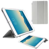 Classic troj polohové puzdro pre iPad Mini 3, ipad Mini 2 a na iPad Mini -  biele