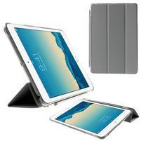 Classic troj polohové puzdro pre iPad Mini 3, ipad Mini 2 a na iPad Mini -  sivé