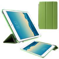 Classic troj polohové puzdro pre iPad Mini 3, ipad Mini 2 a na iPad Mini -  zelené