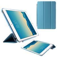 Classic troj polohové puzdro pre iPad Mini 3, ipad Mini 2 a na iPad Mini -  modré
