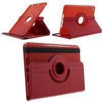 Circu otočné puzdro pre Apple iPad Mini 3, iPad Mini 2 a ipad Mini - červené